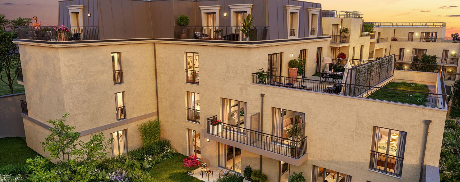 Montesson : programme immobilier neuve « Les Jardins du Lavoir » en Loi Pinel (2)