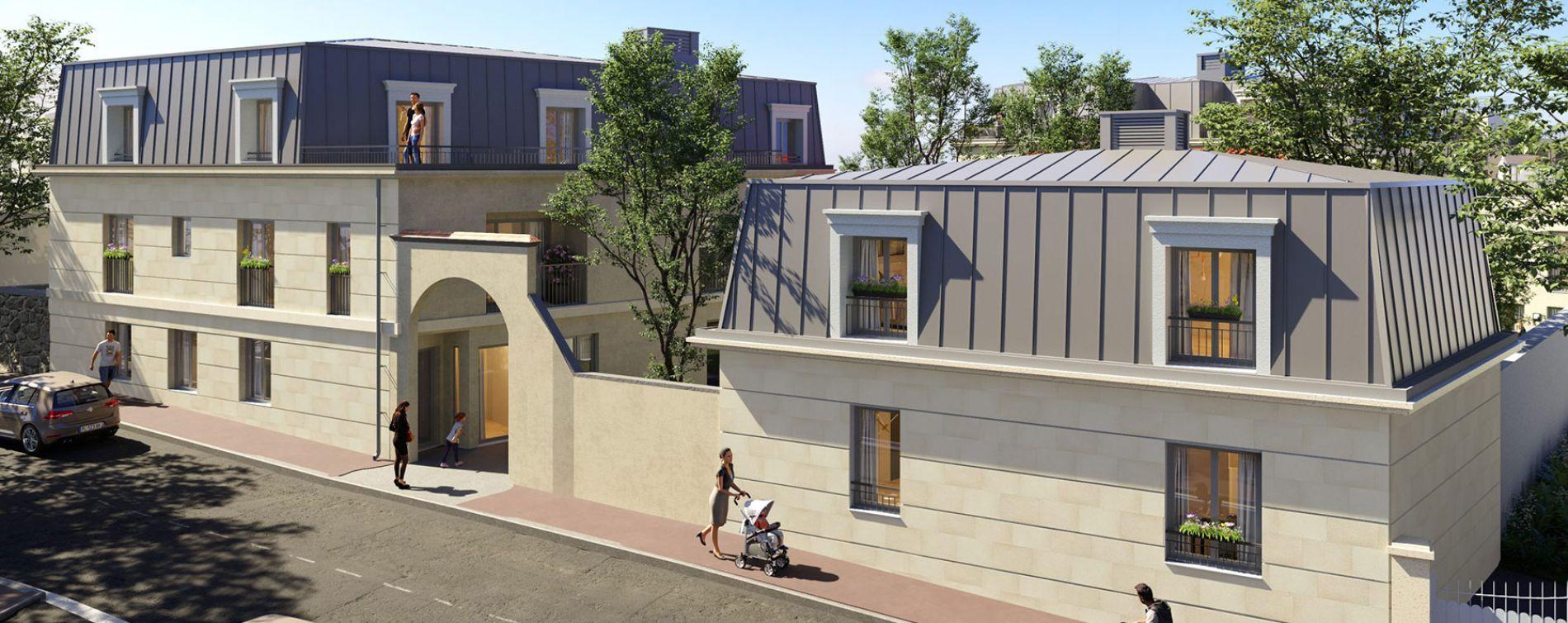 Montesson : programme immobilier neuve « Les Jardins du Lavoir » en Loi Pinel (3)
