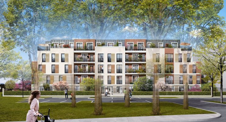 Plaisir : programme immobilier neuf « Les Clairières » en Loi Pinel