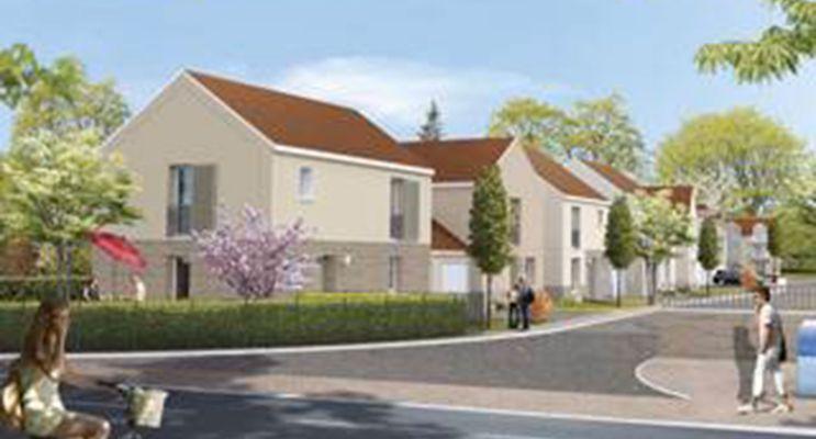 Photo du Résidence « Le Clos du Parc » programme immobilier neuf en Loi Pinel à Porcheville