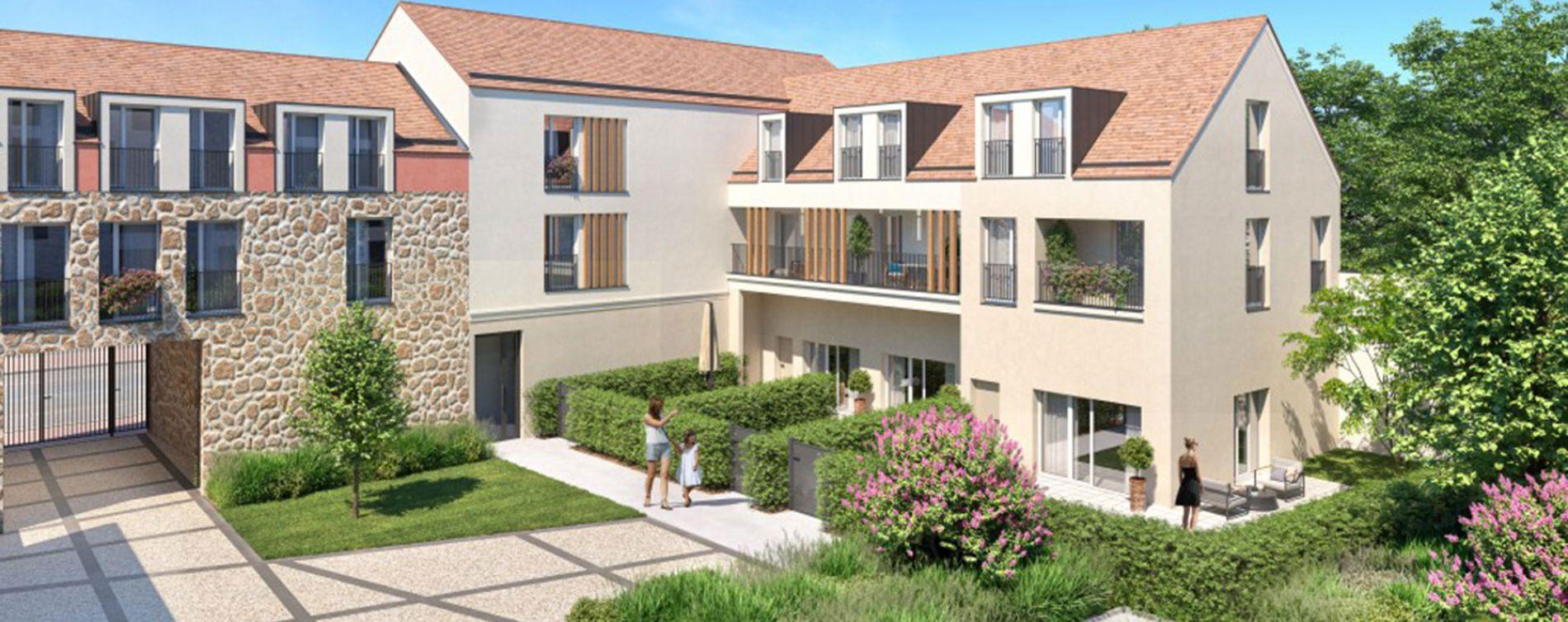 Rambouillet : programme immobilier neuve « Les Bastides » en Loi Pinel