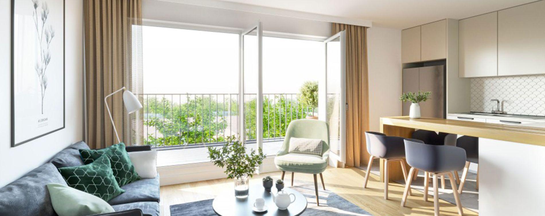 Rambouillet : programme immobilier neuve « Les Bastides » en Loi Pinel (3)