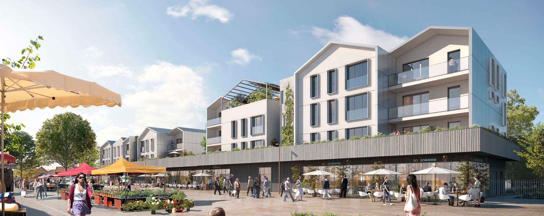 Saint-Germain-en-Laye : programme immobilier neuve « Carré Boisé »