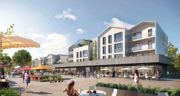 Photo du Résidence « Carré Boisé » programme immobilier neuf en Loi Pinel à Saint-Germain-en-Laye