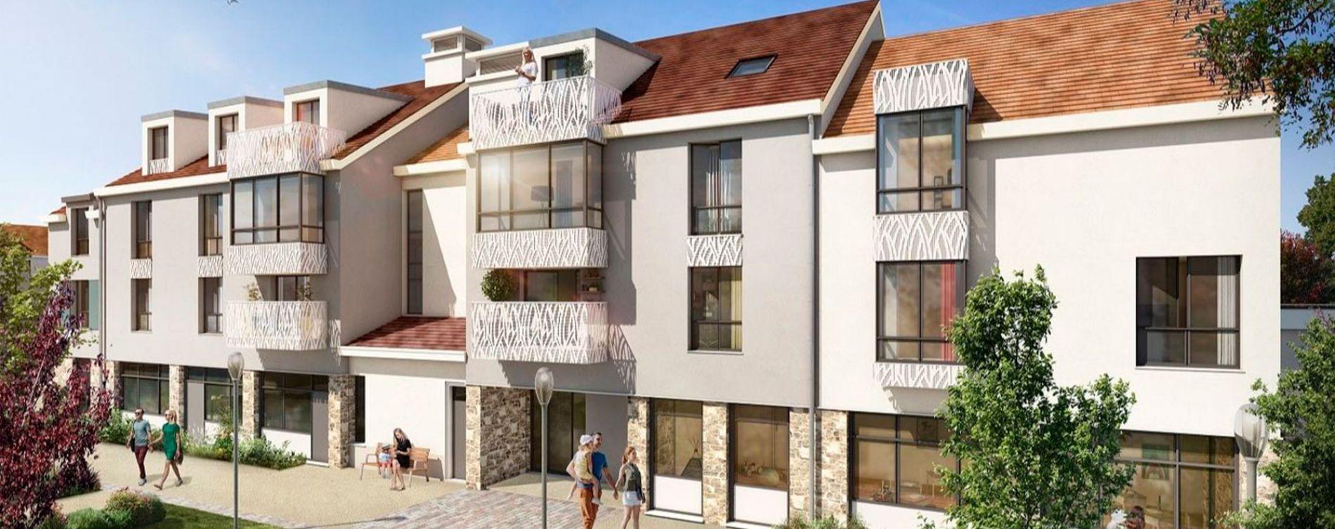 Saint-Rémy-lès-Chevreuse : programme immobilier neuve « Coeur de ville » en Loi Pinel (2)