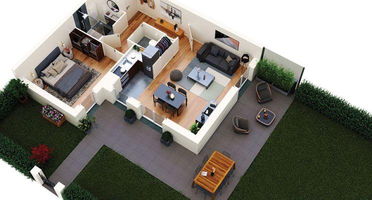 Résidence « Pure » programme immobilier neuf en Loi Pinel à Saint-Rémy-lès-Chevreuse n°3