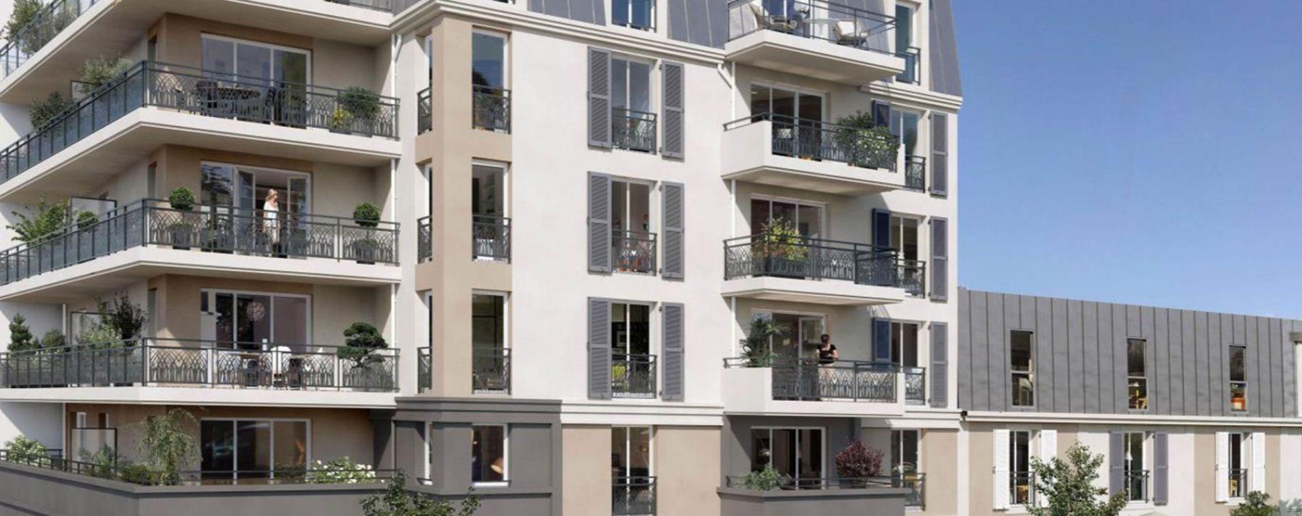 Sartrouville : programme immobilier neuve « Le 11e Arpent » en Loi Pinel (3)