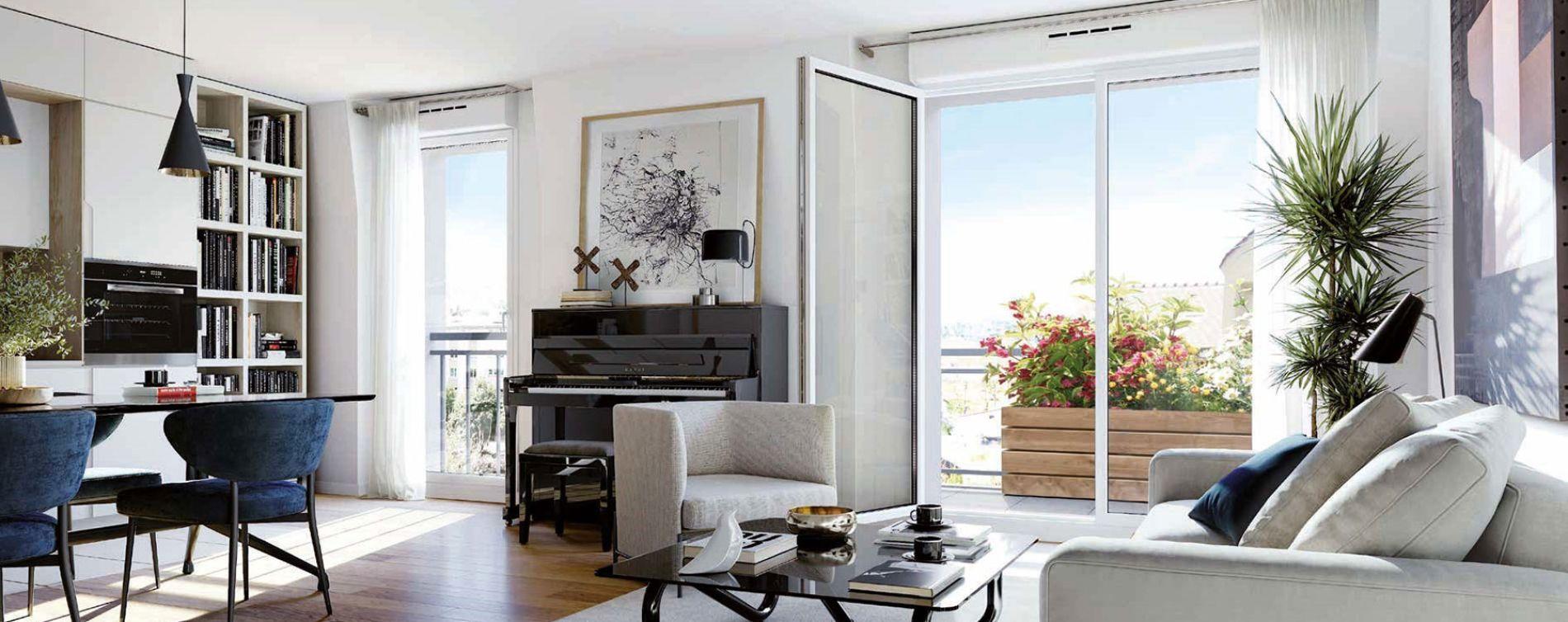 Sartrouville : programme immobilier neuve « Le 11e Arpent » en Loi Pinel (5)