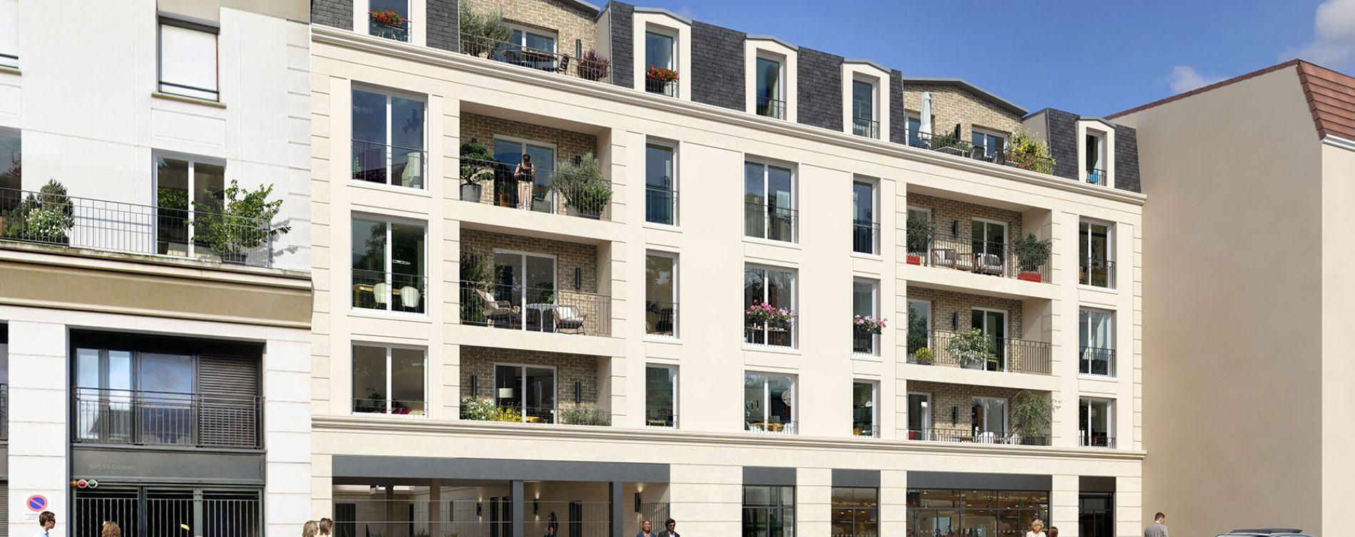 Sartrouville : programme immobilier neuve « Le 21 Jaurès »