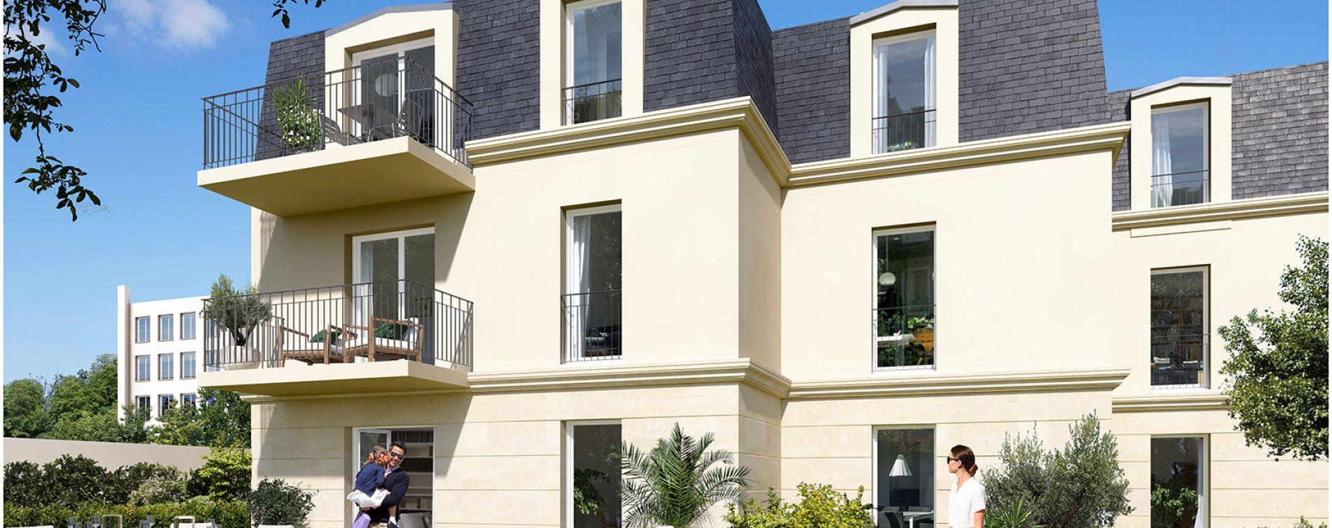 Sartrouville : programme immobilier neuve « Le 21 Jaurès » (2)