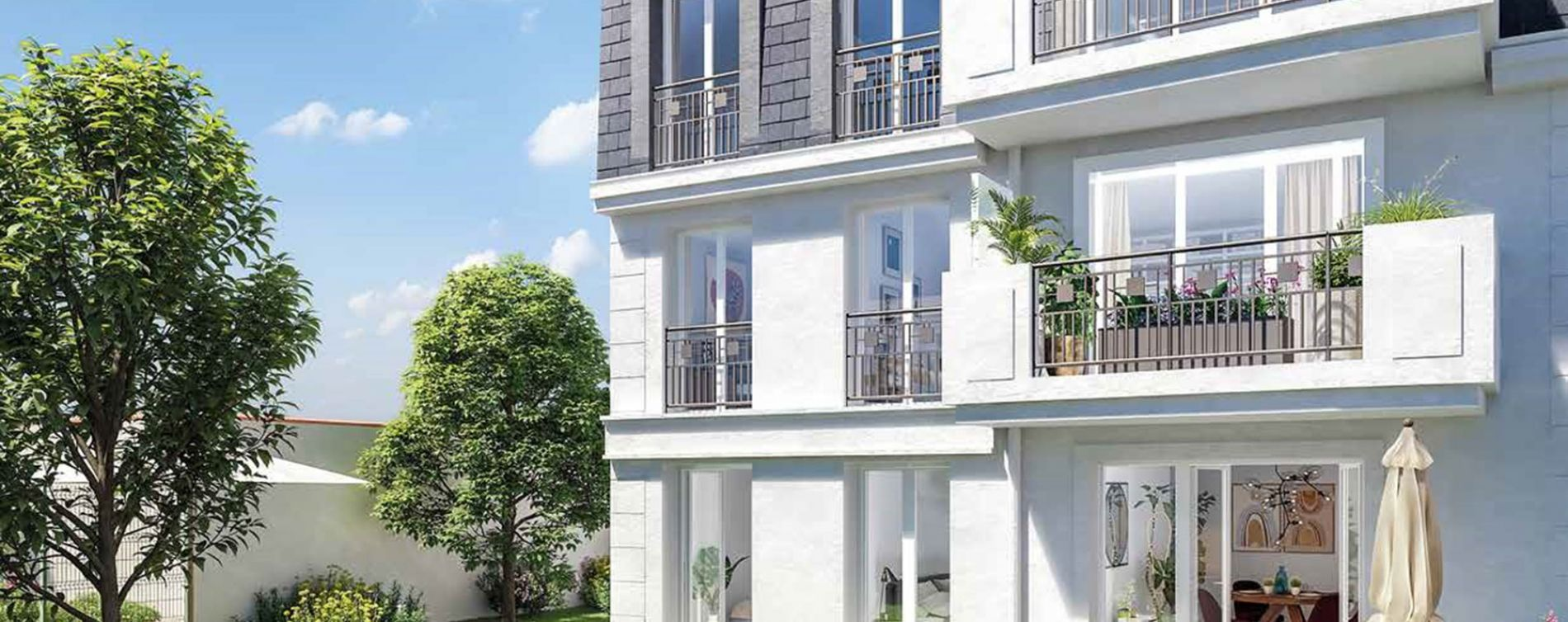 Sartrouville : programme immobilier neuve « Le Confiden'Ciel » en Loi Pinel