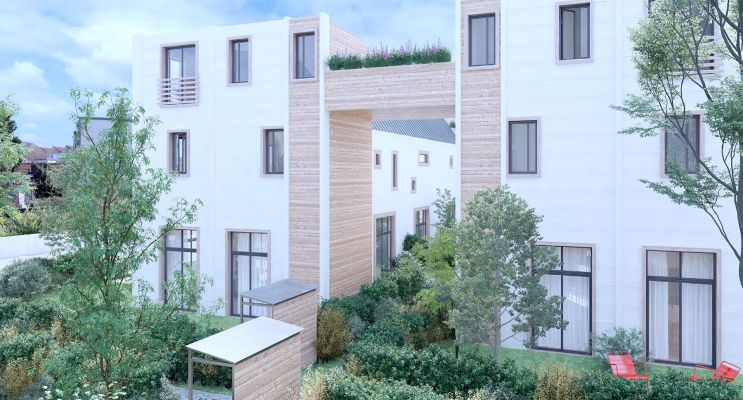 Photo du Résidence « Le Grand Patio » programme immobilier neuf en Loi Pinel à Sartrouville