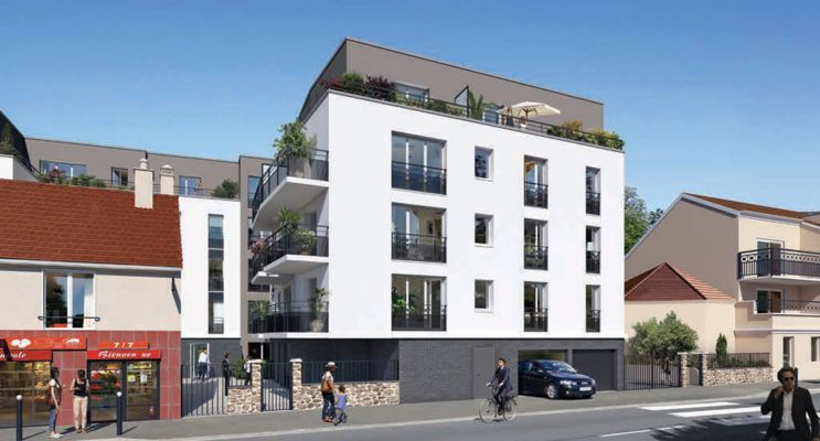 Trappes : programme immobilier neuf «  n°216223 » en Loi Pinel