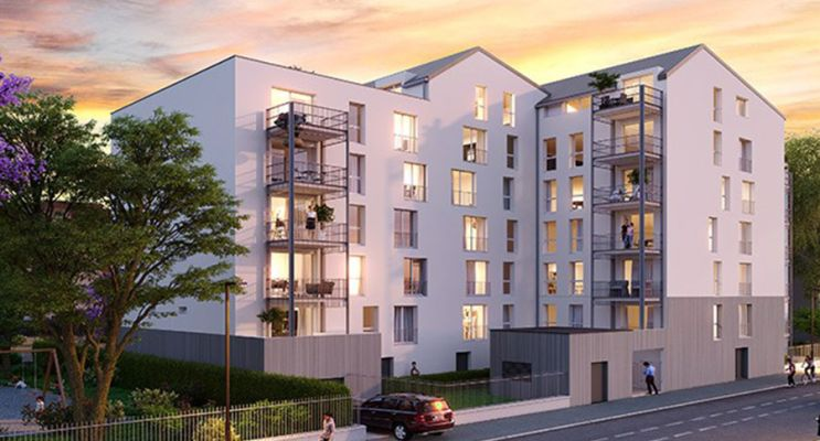 Trappes : programme immobilier neuf « In'Side » en Loi Pinel