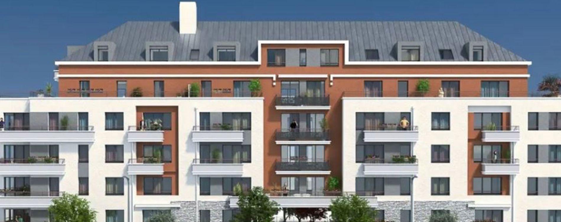 Trappes : programme immobilier neuve « Villa Muralis » en Loi Pinel
