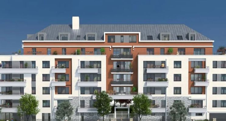 Trappes programme immobilier neuf « Villa Muralis » en Loi Pinel