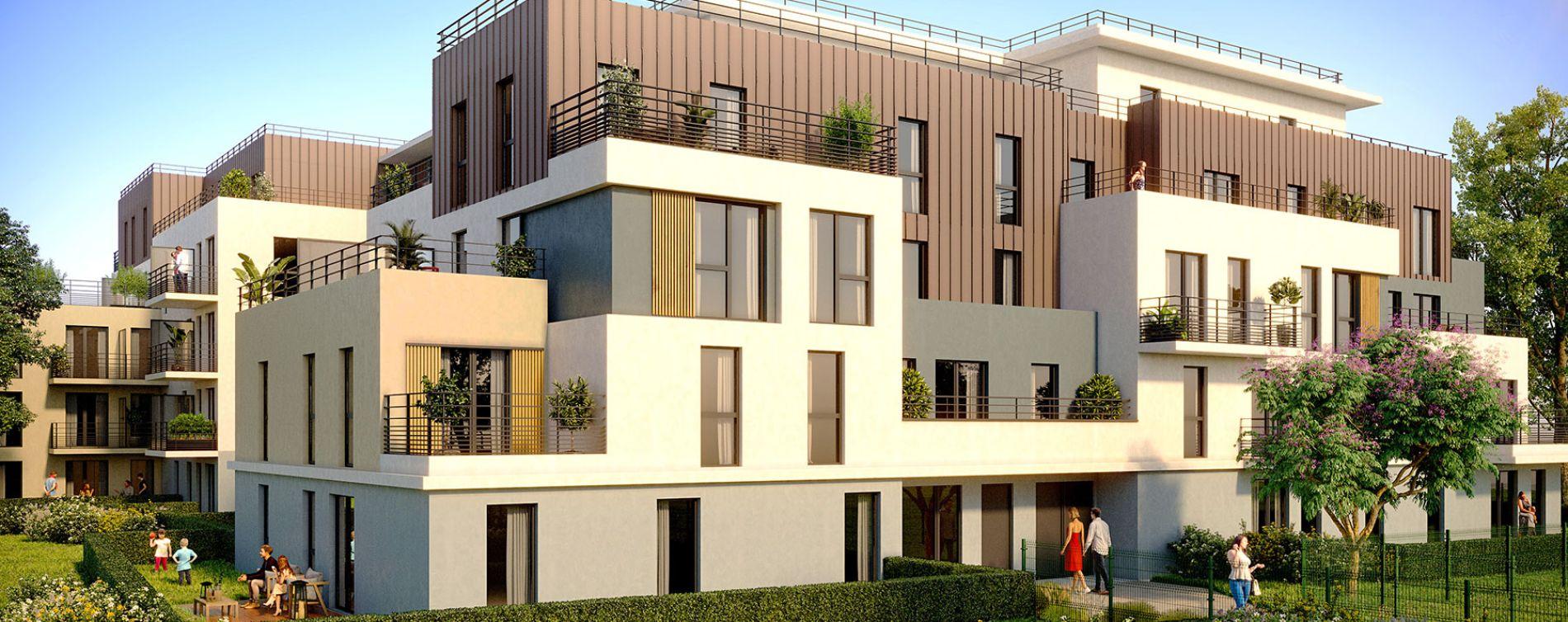Verneuil-sur-Seine : programme immobilier neuve « Cadence » en Loi Pinel