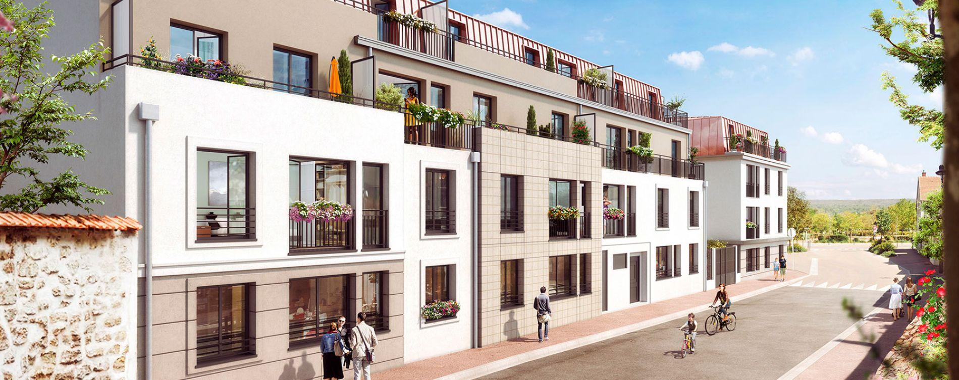 Verneuil-sur-Seine : programme immobilier neuve « Le Clos du Château »