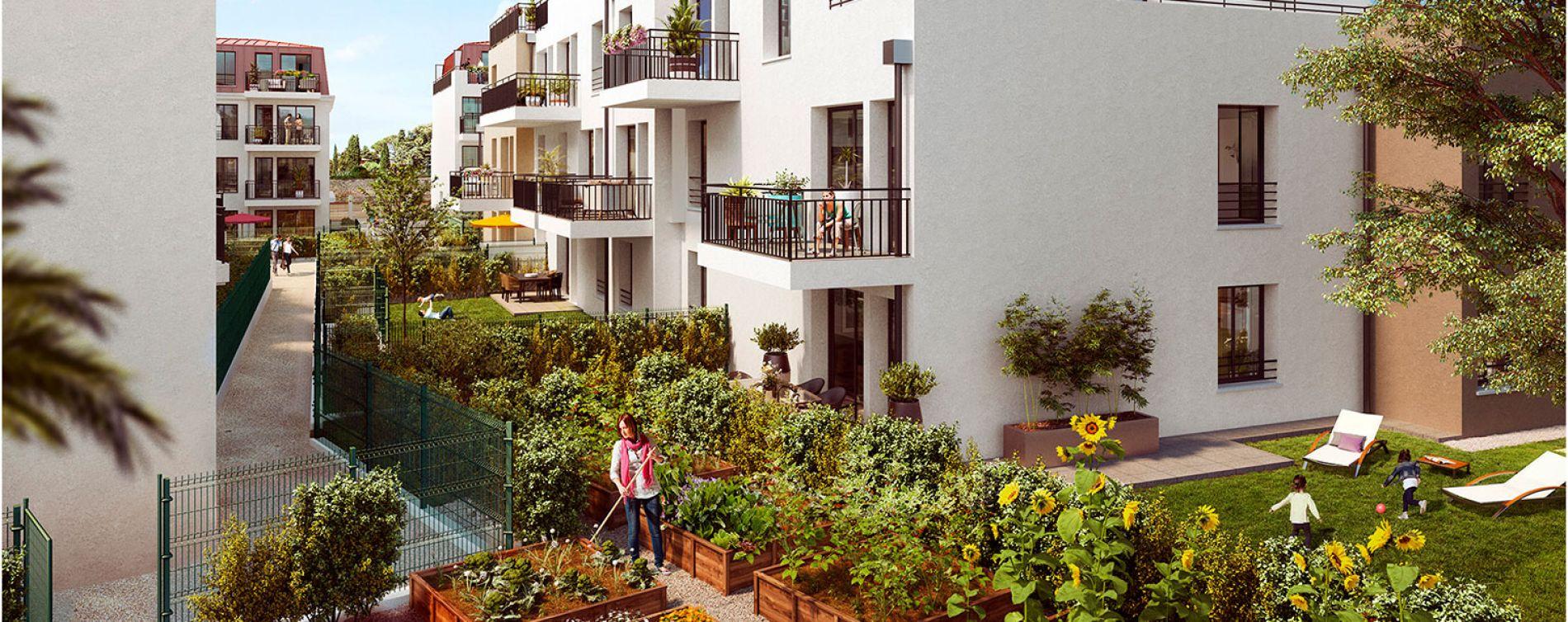 Verneuil-sur-Seine : programme immobilier neuve « Le Clos du Château » (2)