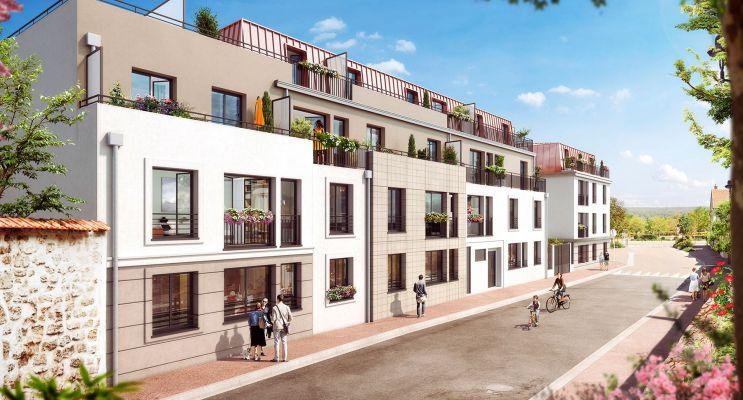 Verneuil-sur-Seine : programme immobilier neuf « Le Clos du Château » en Loi Pinel