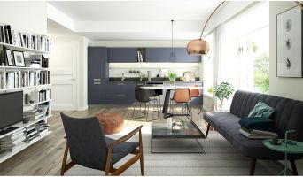 Verneuil-sur-Seine programme immobilier neuve « Villa Verneuil » en Loi Pinel  (2)