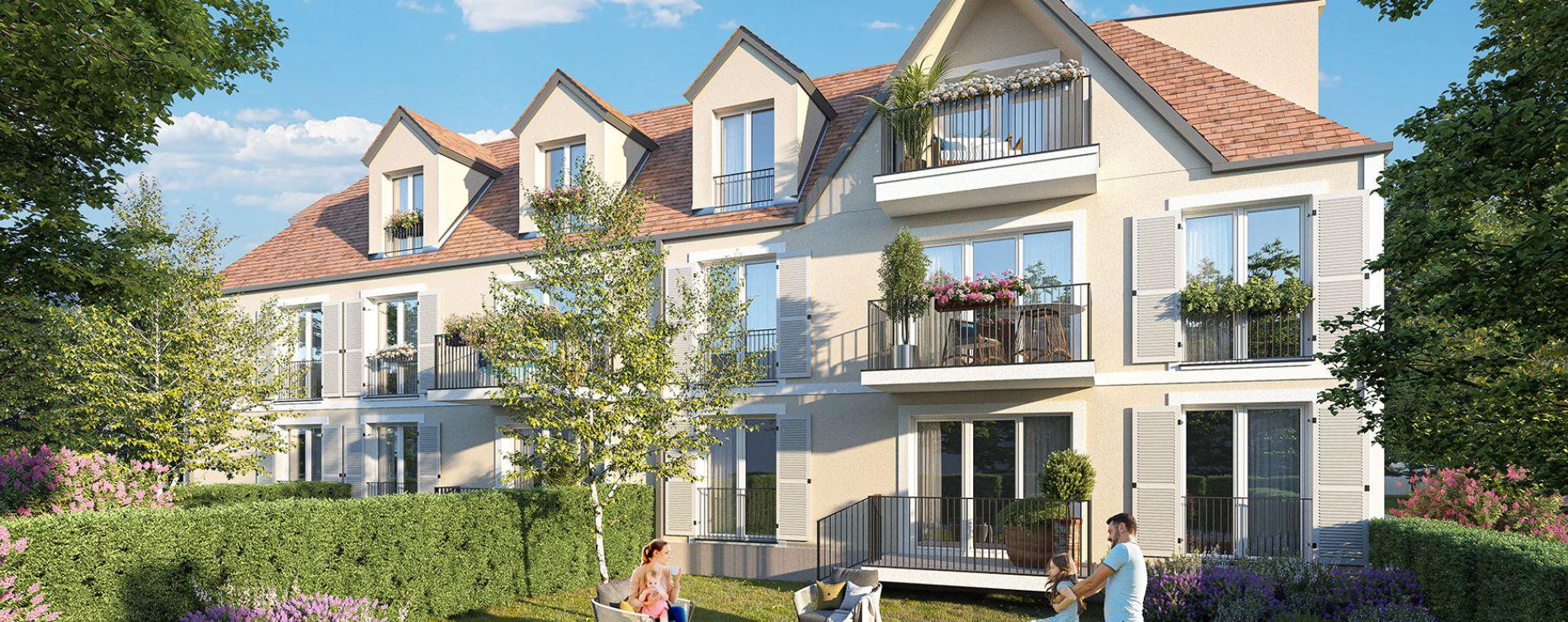 Vernouillet : programme immobilier neuve « L'Amandière » en Loi Pinel