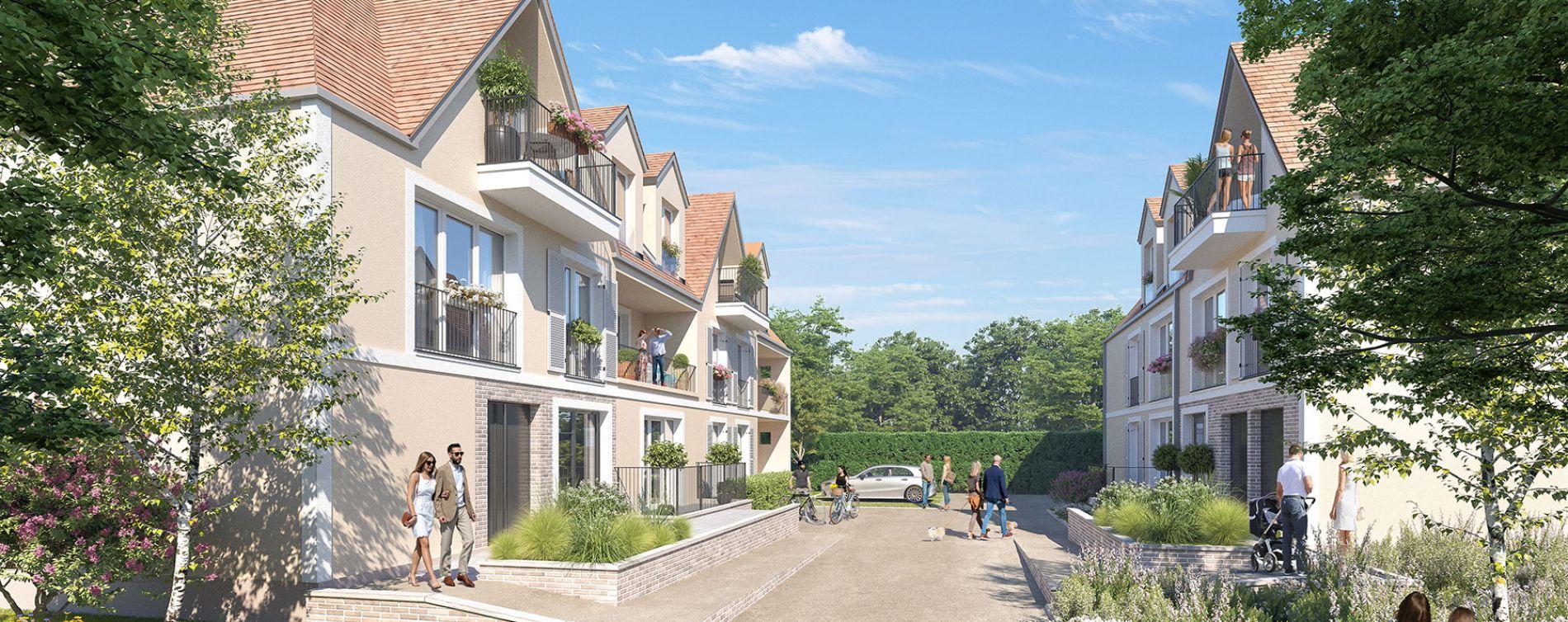 Vernouillet : programme immobilier neuve « L'Amandière » en Loi Pinel (2)