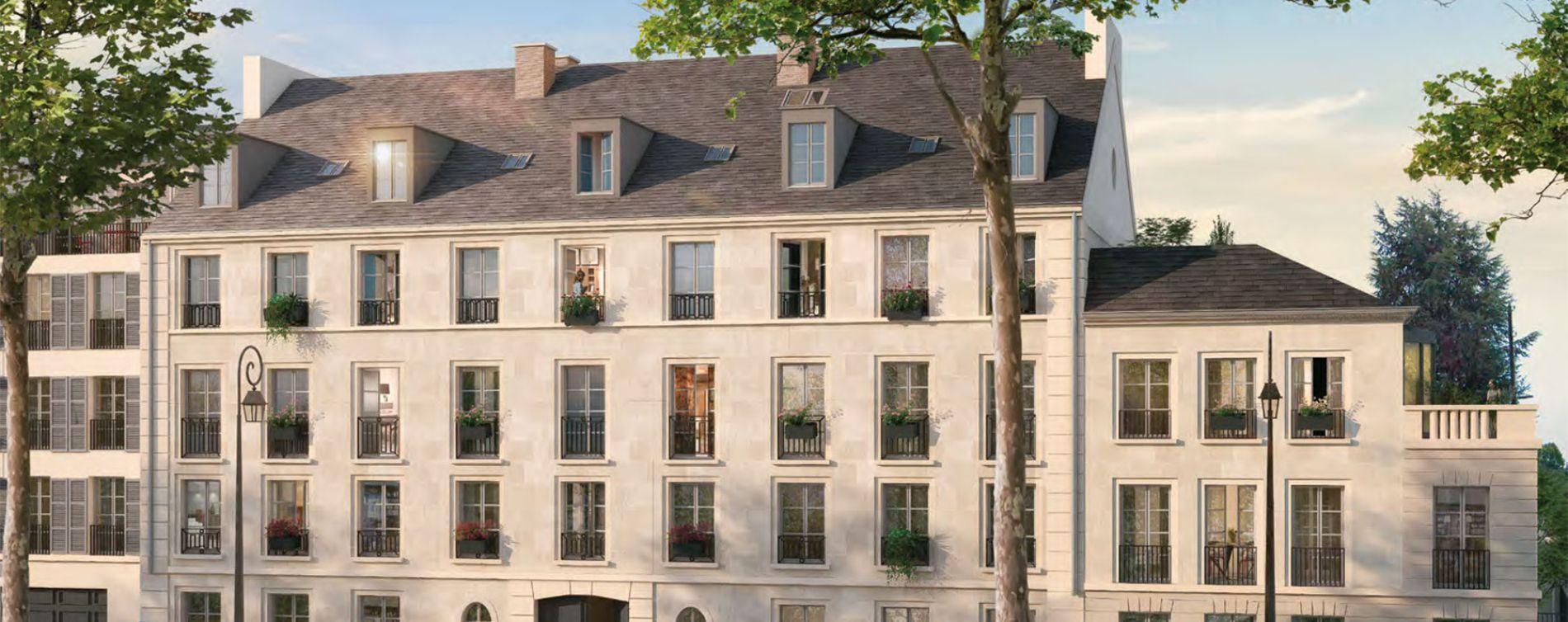 Versailles : programme immobilier neuve « Les Bosquets de Versailles » en Loi Pinel
