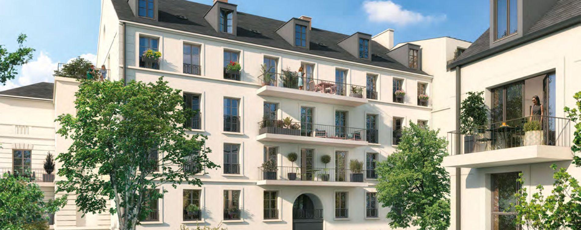 Versailles : programme immobilier neuve « Les Bosquets de Versailles » en Loi Pinel (2)