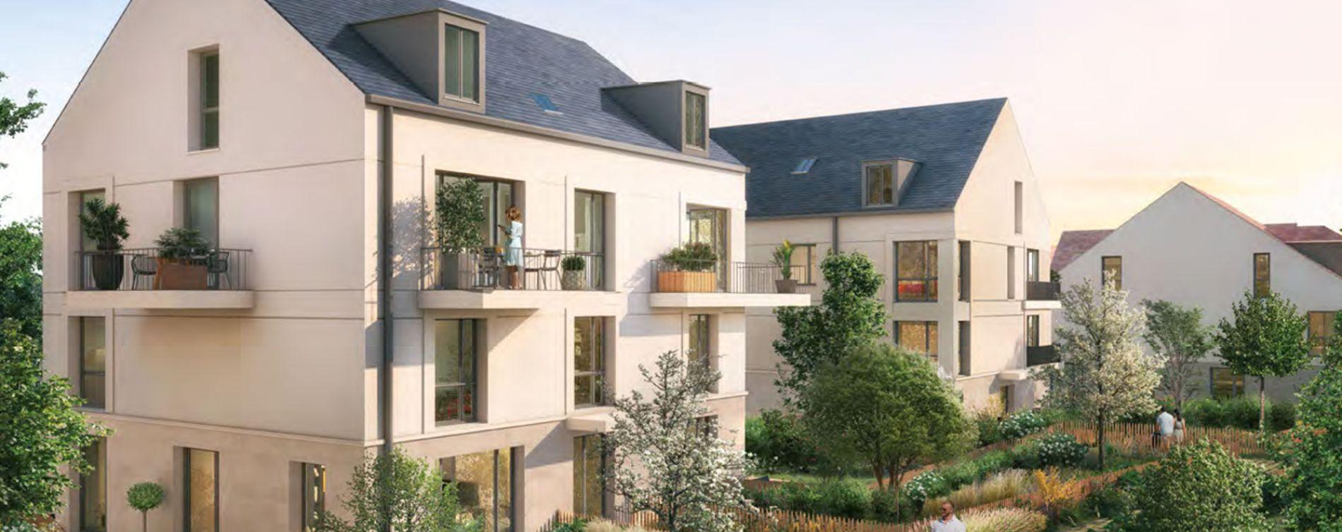 Versailles : programme immobilier neuve « Les Bosquets de Versailles » en Loi Pinel (3)