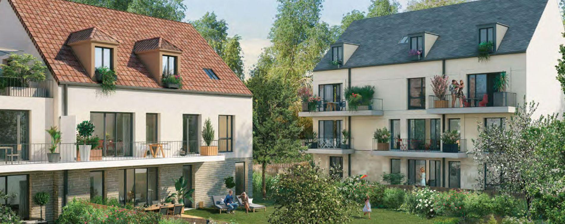 Versailles : programme immobilier neuve « Les Bosquets de Versailles » en Loi Pinel (4)