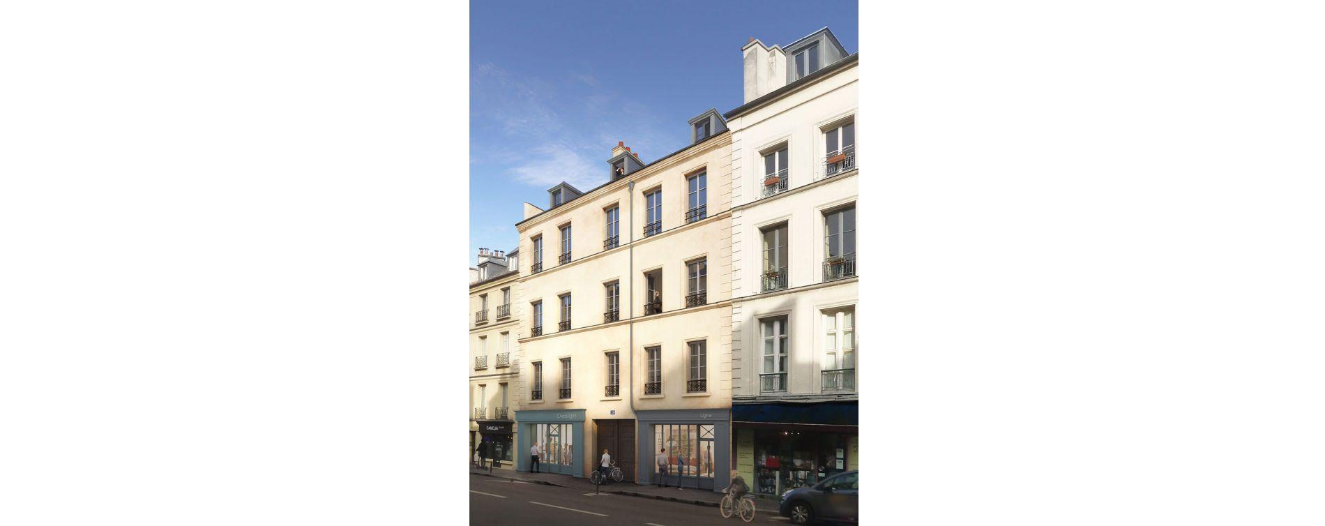 Versailles : programme immobilier à rénover « Passage de l'Orangerie » en Loi Malraux (2)