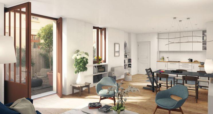 Versailles : programme immobilier à rénover « Passage de l'Orangerie » en Loi Malraux
