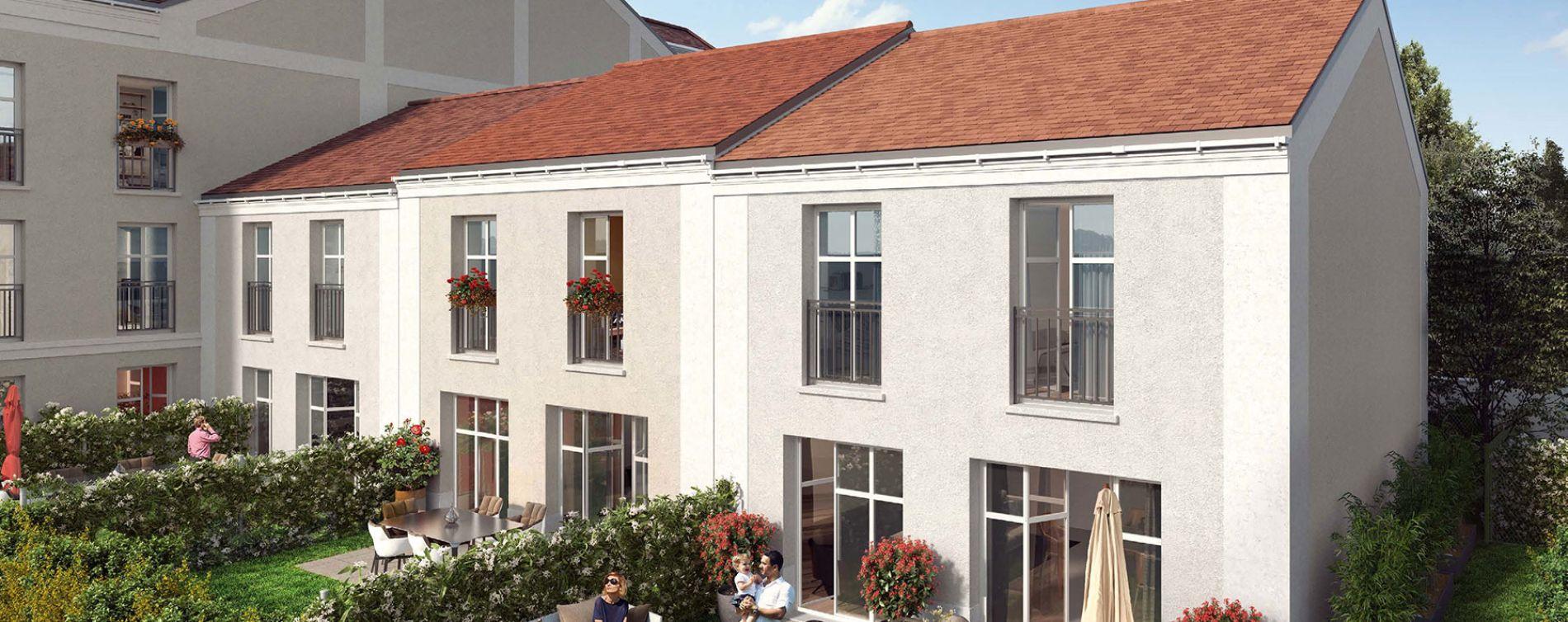 Voisins-le-Bretonneux : programme immobilier neuve « Belle Epoque » (3)