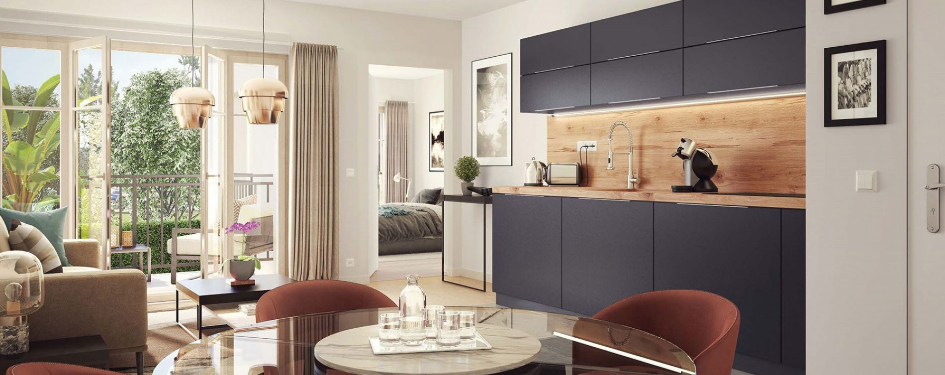Voisins-le-Bretonneux : programme immobilier neuve « Belle Epoque » (4)