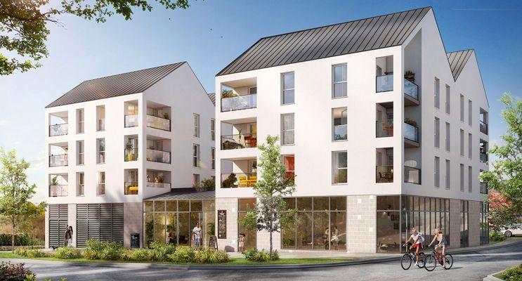 Bénouville : programme immobilier neuf « Bridge Avenue »