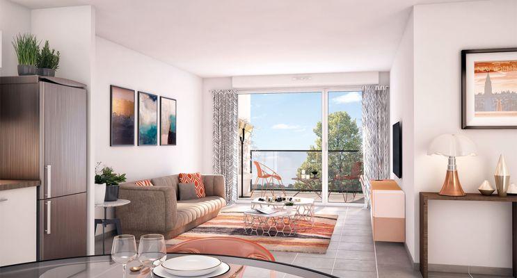 Résidence « Bridge Avenue » programme immobilier neuf à Bénouville n°2
