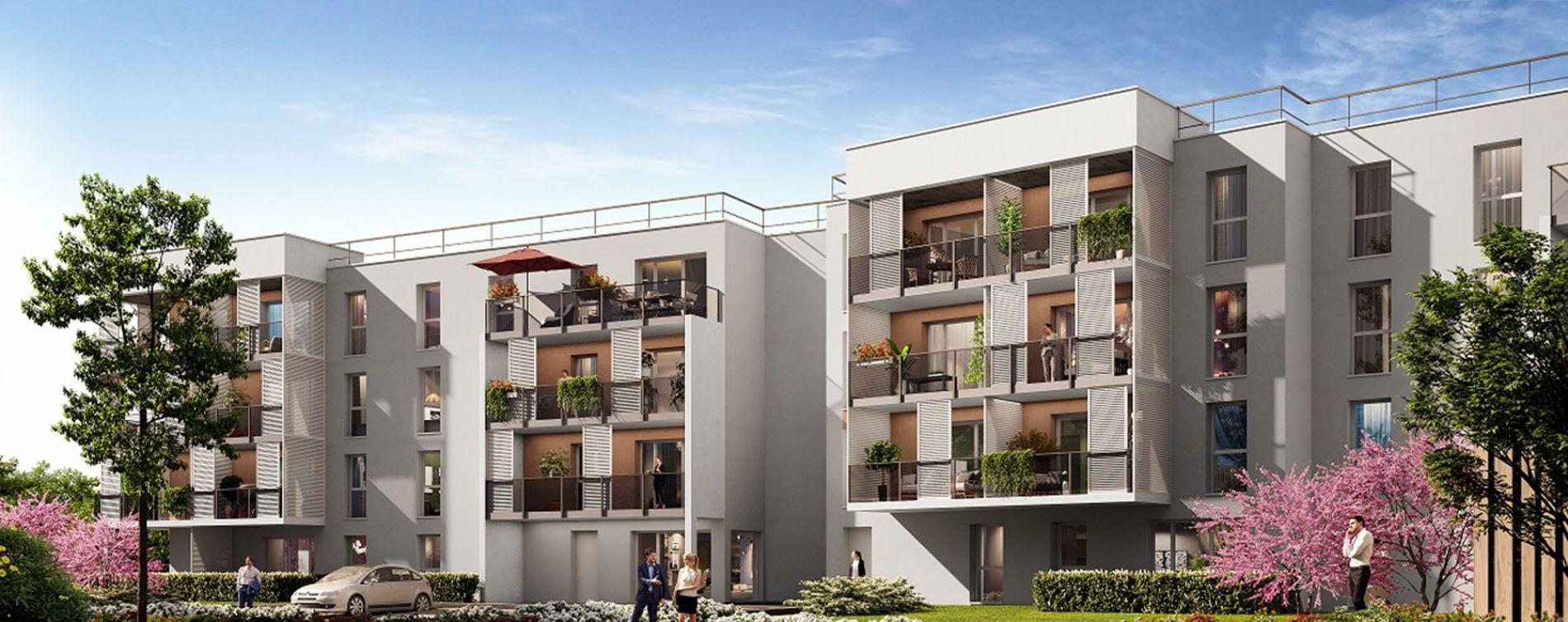 Blainville-sur-Orne : programme immobilier neuve « Rosa Alba » (2)