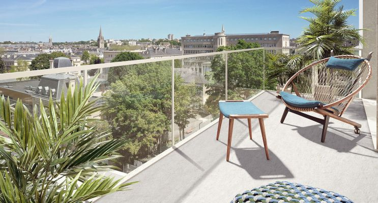 Caen programme immobilier neuf « Allure » en Loi Pinel