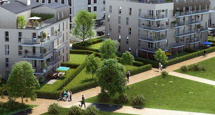 Photo du Résidence « Folissime » programme immobilier neuf en Loi Pinel à Caen