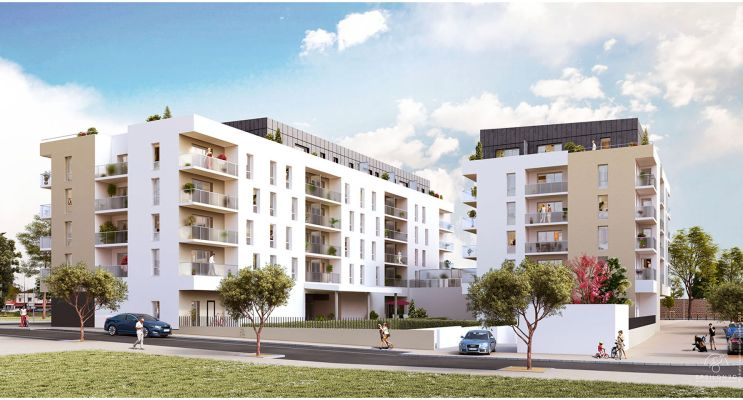Photo du Résidence « In City » programme immobilier neuf en Loi Pinel à Caen
