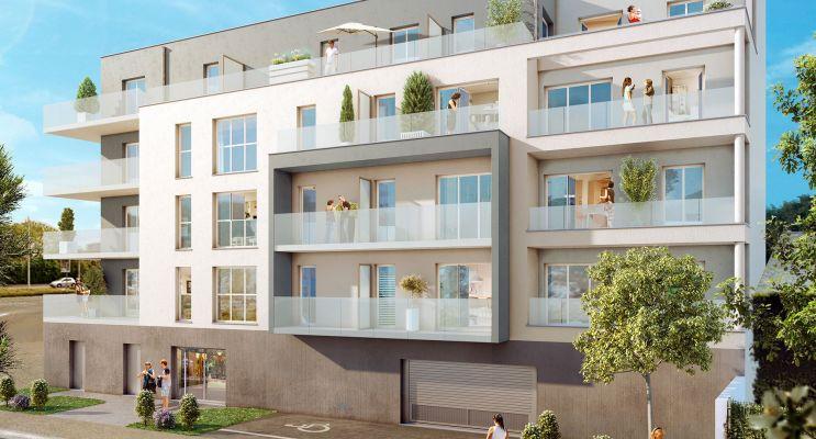Photo du Résidence « Le Contemporain » programme immobilier neuf en Loi Pinel à Caen