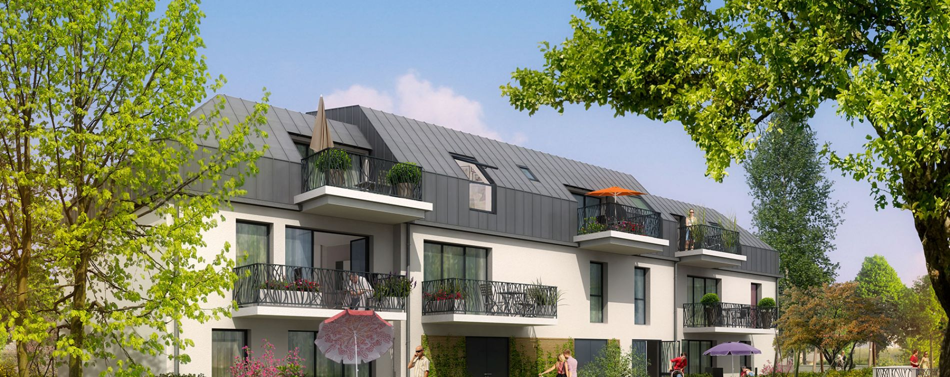 Résidence Les Jardins de Saint Ouen à Caen