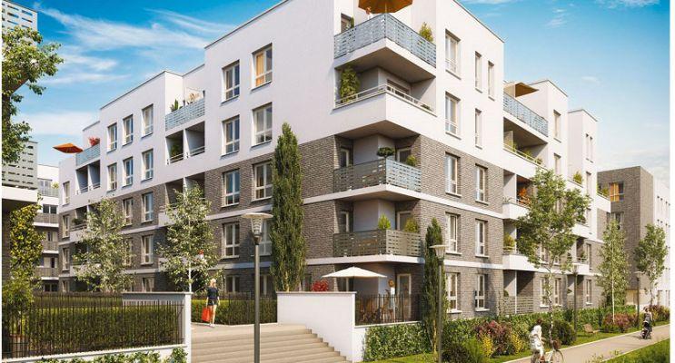 Photo n°2 du Résidence « Les Jardins Don Bosco » programme immobilier neuf en Loi Pinel à Caen