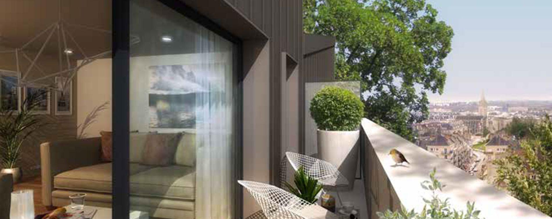 Caen : programme immobilier neuve « Plenitude » (2)