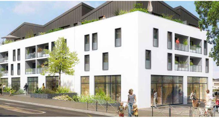Photo du Résidence « Plenitude » programme immobilier neuf en Loi Pinel à Caen