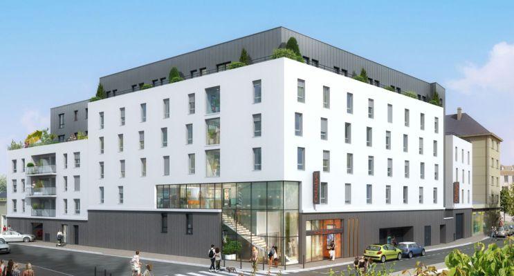 Photo du Résidence « Résidence Henriette Geffroy » programme immobilier neuf à Caen