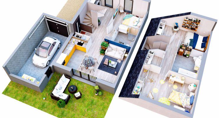 Photo n°5 du Résidence « Les Villas Saint Germain » programme immobilier neuf à Cagny