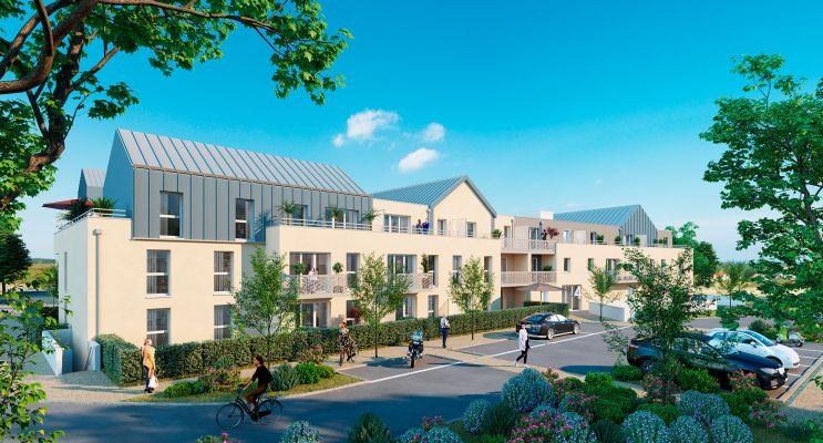 Carpiquet : programme immobilier neuf « Le Val 3 » en Loi Pinel