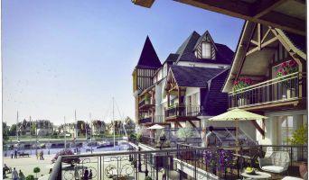Deauville programme immobilier neuve « Les Jardins d'Eugenie Nue Pro »  (2)